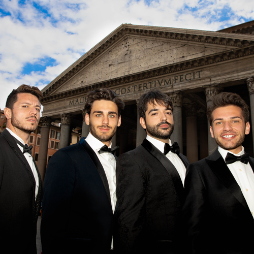 Four Italian Tenors Keith Dixon 500X500